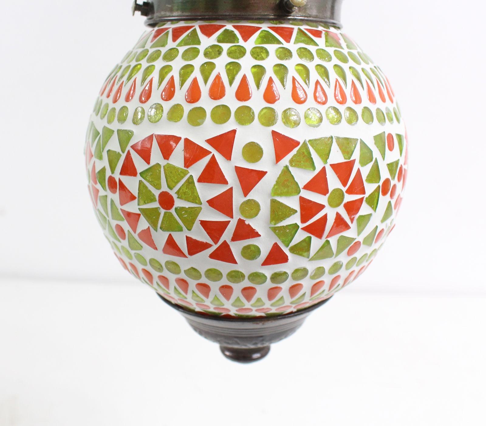 H Nge Mosaik Lampen Rund Orientalisch Dekoleuchte Gr N