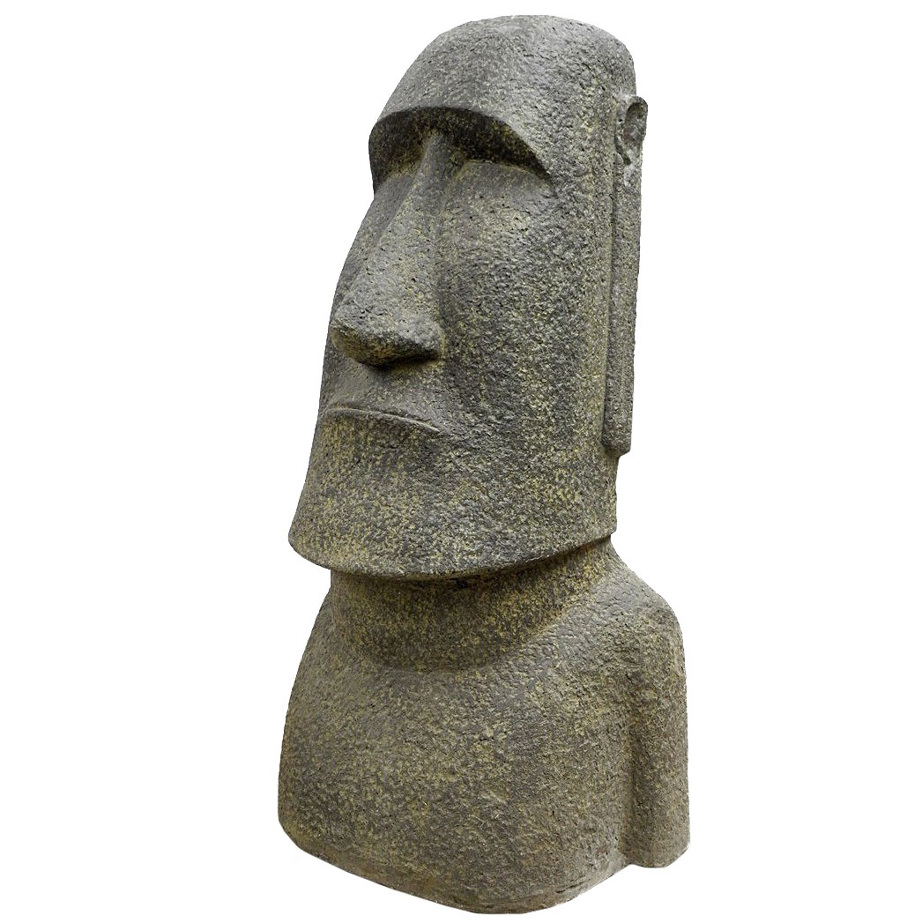 osterinsel moai figur skulptur stein lavasand bali tiki. Black Bedroom Furniture Sets. Home Design Ideas