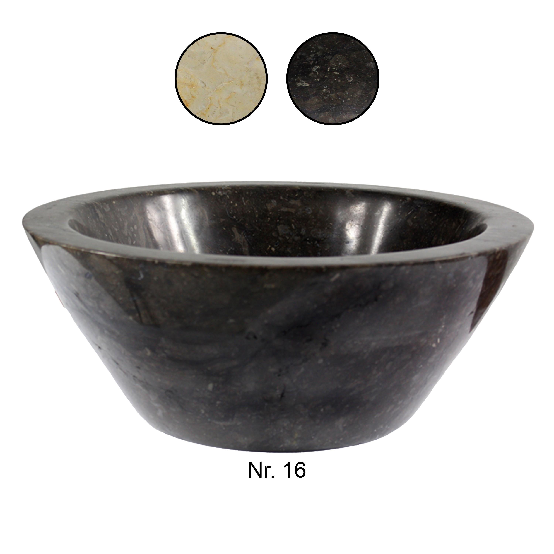 marmorwaschbecken handwaschbecken aufsatzwaschbecken g ste wc 30 cm marmor rund ebay. Black Bedroom Furniture Sets. Home Design Ideas