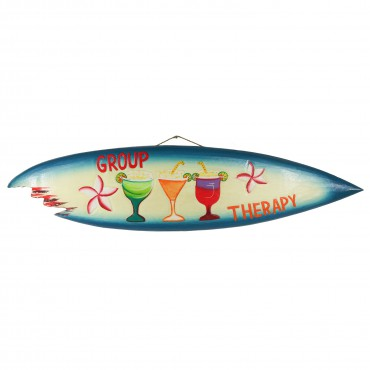 Surfbrett Deko Holzschild Hawaii Wandbrett Brett Bar Party ca. 100 cm – Bild 9