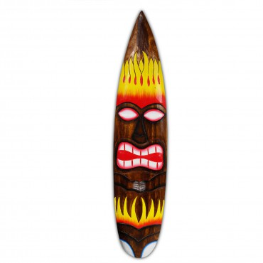 Surfbrett Deko Holzschild Hawaii Wandbrett Brett Bar Party ca. 100 cm – Bild 10